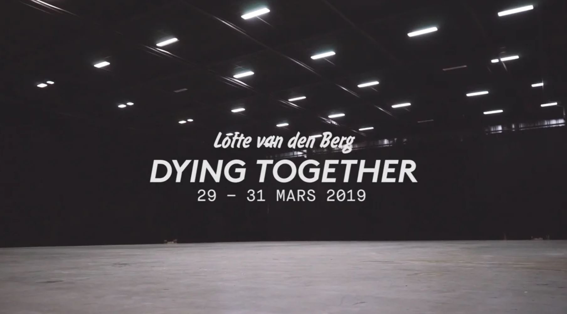Dying together - Nanterre-Amandiers