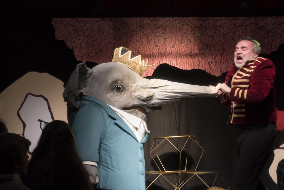 Babarman, Mon cirque pour un royaume - Nanterre-Amandiers