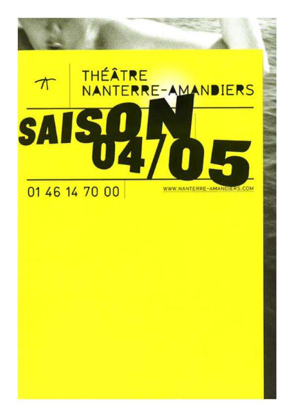 Saison 2004/2005 - Nanterre-Amandiers