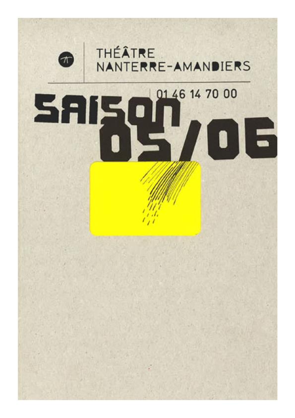 Saison 2005/2006 - Nanterre-Amandiers
