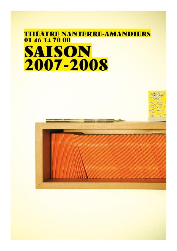 Saison 2007/2008 - Nanterre-Amandiers