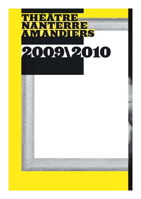Saison 2009/2010 - Nanterre-Amandiers