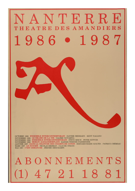 Saison 1986/1987 - Nanterre-Amandiers