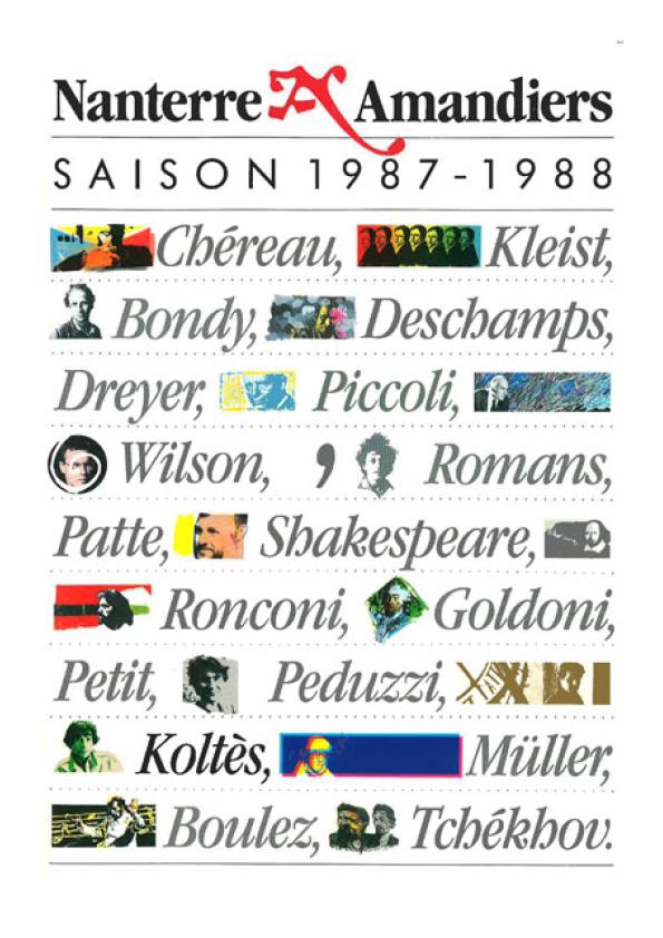 Saison 1987/1988 - Nanterre-Amandiers