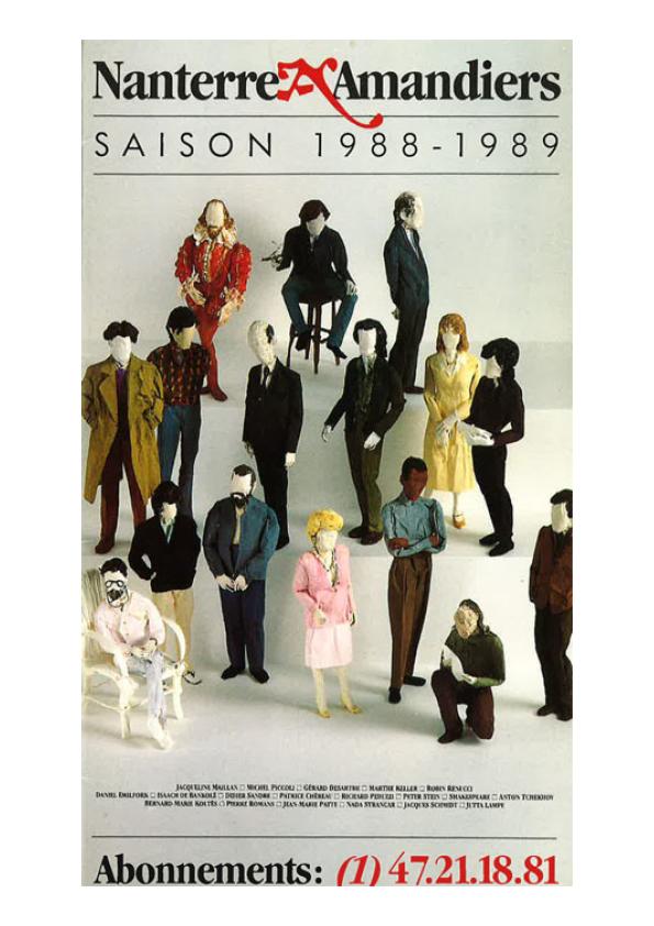 Saison 1988/1989 - Nanterre-Amandiers