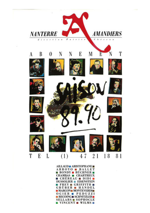 Saison 1989/1990 - Nanterre-Amandiers