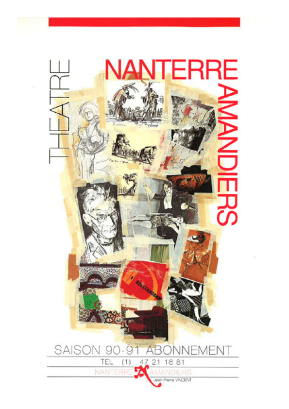 Saison 1990/1991 - Nanterre-Amandiers
