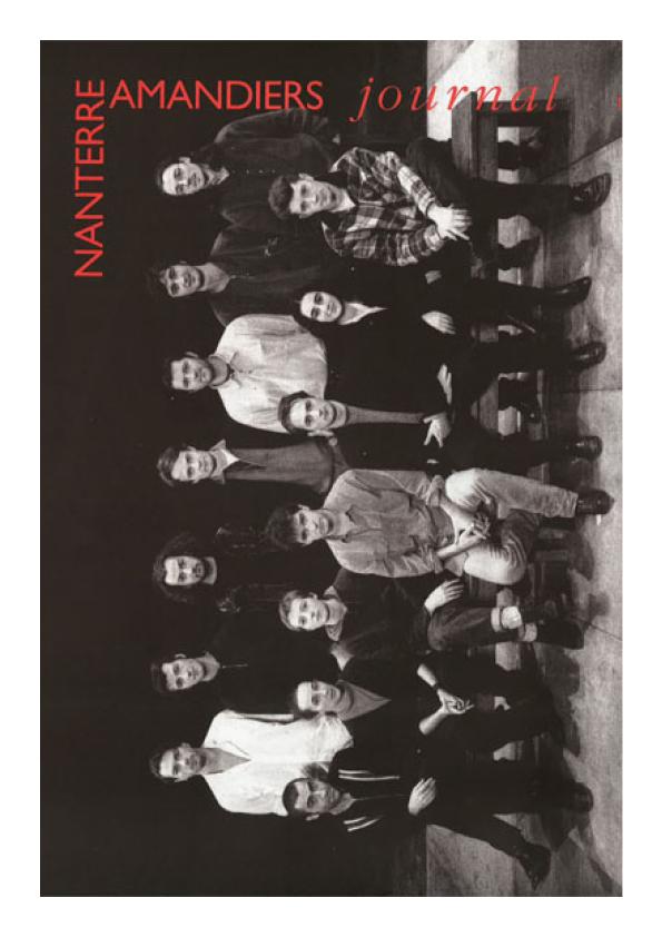 Saison 1994/1995 - Nanterre-Amandiers